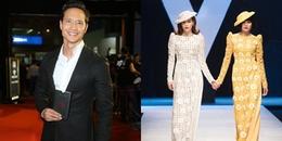 Clip: Kim Lý lặng lẽ vỗ tay ủng hộ Hồ Ngọc Hà quay lại sàn catwalk sau 5 năm