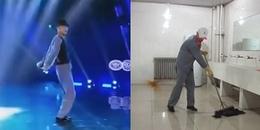 Bị chê cười khi thi Got Talent, chú lao công làm khán giả 'câm nín' khi nhảy vũ đạo Micheal Jackson