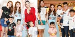 Cựu thành viên Mây Trắng và sao Việt nô nức dự sinh nhật con trai Thu Thủy