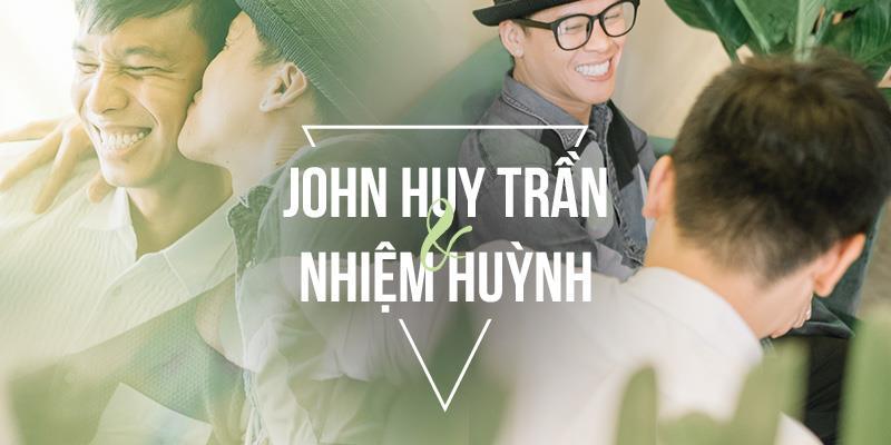 yan.vn - tin sao, ngôi sao - John Huy Trần - Nhiệm Huỳnh: 9 năm yêu nhau say đắm và một cái kết đẹp như trong phim