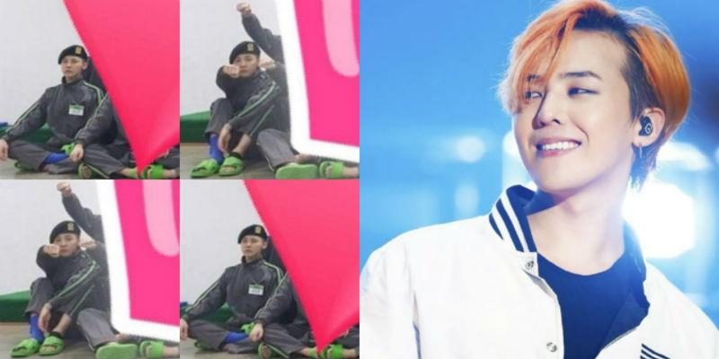 yan.vn - tin sao, ngôi sao - Có ai đẳng cấp như G-Dragon, mang dép xốp rẻ tiền khi nhập ngũ cũng thành trào lưu được săn đón