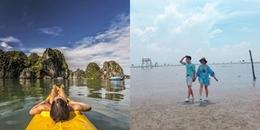 Cuối tuần 'trốn nóng' khỏi thành phố, khám phá ngay 5 bãi biển rất gần Hà Nội