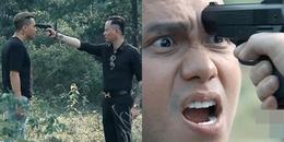 Hết Phan Quân, lại đến Phan Hải bị chĩa súng vào đầu trong 'Nguời phán xử' tiền truyện