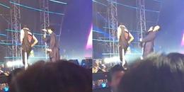 Netizen phẫn nộ khi thành viên GOT7 bị khán giả ném vật thể lạ đau đến mức không thể hát nổi