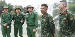 """Gin Tuấn Kiệt, Hoàng Tôn và Bảo Kun """"đuối sức"""" ngay trong ngày đầu nhập ngũ"""