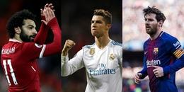 Đội hình 11 cầu thủ xuất sắc nhất châu Âu mùa giải 2017/2018: Salah tỏa sáng giữa rừng sao châu Âu