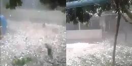 Hút hơn 10 triệu lượt xem, đây hẳn là trận mưa đá kinh hoàng nhất mà dân mạng từng thấy