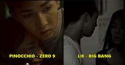Hết bắt chước phong cách BTS, Zero 9 'học hỏi' BIG BANG cả cách làm MV?