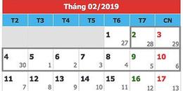 Phương án nghỉ 9 ngày tết Nguyên Đán 2019 được nhiều bộ ngành ủng hộ