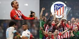 ĐIỂM NHẤN chung kết Europa League 2017/18: Marseille quá non nớt; Atletico lần thứ 3 lên ngôi
