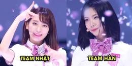 Màn trình diễn đầu tiên của Produce 48 chính thức lên sóng khiến fan Kpop háo hứa chia team Hàn Nhật