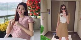 Ơn giời! chỉ sau 1 tháng sinh con, Đặng Thu Thảo lấy lại vóc dáng thần tốc thế này