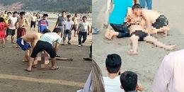 Nghệ An: Chồng tử vong khi cố gắng bơi ra cứu vợ bầu bị sóng cuốn