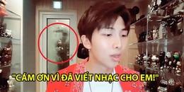 RM livestream giao lưu cùng fan bị V 'quấy rối', hé lộ Fake Love phiên bản đặc biệt Made By Namjoon