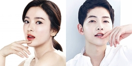 Cặp đôi Song Joong Ki - Song Hye Kyo tiết lộ bí kíp giữ mãi làn da thanh xuân