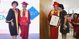 yan.vn - tin sao, ngôi sao - Quang Lê hạnh phúc khoe ảnh con gái nuôi Phương Mỹ Chi trong lễ tốt nghiệp