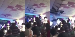 Cô dâu cao hứng tung hoa 'chỉ thiên' và cái kết 'đắng' khiến khách mời bỏ chạy tán loạn