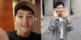 yan.vn - tin sao, ngôi sao - Hình ảnh trái ngược của đôi bạn thân: Lee Kwang Soo thì gầy trơ xương, Song Joong Ki được vợ vỗ béo