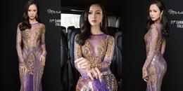 Lơ ý kiến trái chiều, Vũ Ngọc Anh tiếp tục diện trang phục xuyên thấu ở Pháp
