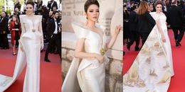 Lý Nhã Kỳ gây chú ý khi mang cả Vịnh Hạ Long lên thảm đỏ LHP Cannes 2018