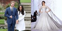 Trước giờ cử hành hôn lễ, lộ diện chiếc váy cưới xa hoa, đắt đỏ của vợ hoàng tử Anh