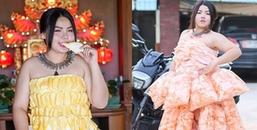 Cosplay hàng hiệu bằng thời trang tự chế vô cùng độc lạ, cô gái trẻ Thái Lan khiến CĐM kinh ngạc