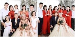 Gia đình đầy đủ 5 thế hệ: Mọi người rất thường xuyên sum họp với nhau và ông bà cụ đã hơn 100 tuổi