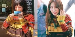 Hết Song Hye Kyo, Min lại 'đụng hàng' trang phục với Taeyeon