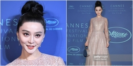 yan.vn - tin sao, ngôi sao - Tái sử dụng ví cầm tay, kiểu tóc cũ, Phạm Băng Băng lại gây thất vọng ở Cannes 2018