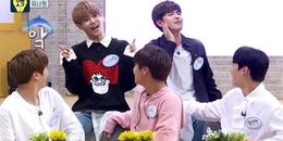 Cười ná thở với khoảnh khắc triệu view: 'Vựa muối' Wanna One thi hát nốt cao giọng cá heo trên show