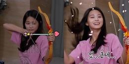 TWICE tổ chức tiệc Pijama, ONCE rụng tim với màn bắn cung thần thánh cực dễ thương của Tzuyu