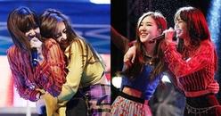 Blink ngây ngất với fancam Black Pink thả thính nhau 'tình bể bình' tại lễ hội đại học Myongji