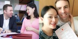 yan.vn - tin sao, ngôi sao - Lan Phương đăng ký kết hôn với chồng Tây cao 2m trước ngày sinh con đầu lòng