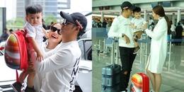 yan.vn - tin sao, ngôi sao - Ngọc Lan, Thanh Bình cùng con trai lên đường sang Hàn Quốc quay hình cho đài SBS