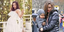 Cựu thiên thần Victoria's Secret tiết lộ về đứa con mới sinh cùng chồng tỷ phú kém 7 tuổi