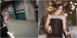 yan.vn - tin sao, ngôi sao - Địch Lệ Nhiệt Ba xuất hiện tại bệnh viện vì vết thương ở eo tái phát