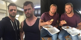 Diễn viên đóng thế cho 'Thor' Chris Hemsworth: Lực lưỡng, điển trai lại giống hệt 'bản gốc'