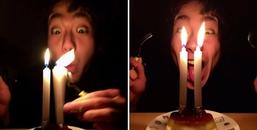 Chàng trai 21 xuân xanh mới được tổ chức sinh nhật lần đầu khiến CĐM vừa thương vừa buồn cười