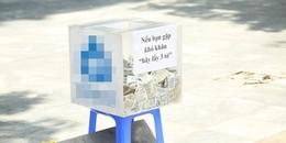 Chuyện xung quanh thùng tiền 'Nếu bạn gặp khó khăn, hãy lấy 3 tờ' ở Sài Gòn