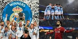 5 kỉ lục 'cực khủng' bị phá vỡ ở châu Âu sau mùa giải 2017/2018
