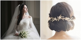 Hãy làm cô dâu lộng lẫy và xinh đẹp nhất trong ngày trọng đại đời mình với kiểu tóc 'siêu hot' này