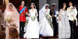 Những chiếc váy cưới Hoàng gia thay đổi thế nào theo thời gian?