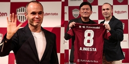 CHÍNH THỨC: Không phải Trung Quốc, Iniesta chọn Nhật Bản làm bến đỗ tiếp theo