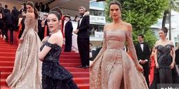Chuyện gì đang xảy ra với Lý Nhã Kỳ và thiên thần Victoria's Secret trên thảm đỏ Cannes thế này?