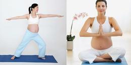 Những bài tập đơn giản khi mang thai giúp mẹ bầu sinh đẻ dễ dàng, nhanh chóng và ít đau đớn