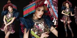 Trang phục dân tộc nặng hơn 30kg của đại diện Việt Nam ở Nữ hoàng Du lịch Quốc tế 2018