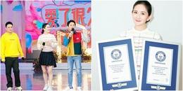 yan.vn - tin sao, ngôi sao - Vừa trở lại sau thời gian sinh con, Tạ Na đã phá 2 kỷ lục Guiness thế giới