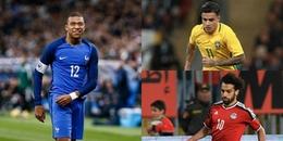 Salah, Mbappe lĩnh xướng đội hình tân binh siêu khủng có lần đầu tiên ra mắt World Cup
