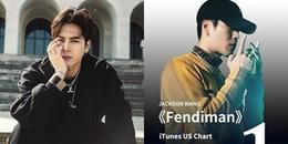 Jackson Wang lăm le vị trí số 1 của Kris Wu trên Itunes Mỹ, một thành tích ngay cả GOT7 cũng mơ ước
