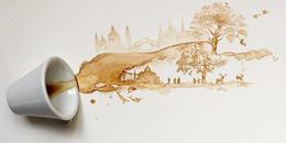 Kinh ngạc trước những tuyệt tác từ cà phê của cô gái người Ý